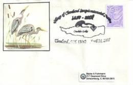 Les échassiers Du Lac Oneida (le Plus Grand Lac De L´Etat De New-York) Enveloppe Souvenir  2007 - Event Covers