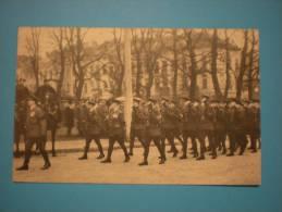 Funérailles Du Roi Albert 1er, L'hommage De L'armée Anglaise, Un Détachement Britannique Défilant Devant Le Cercueil - Funérailles