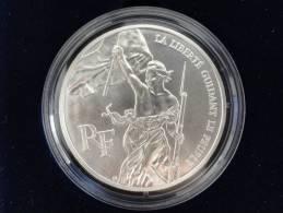 1993 - ESSAI - 100 Francs Argent - La Liberté Guidant Le Peuple - Bicentenaire Du Musée Du Louvre - France - Essais