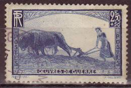 FRANCE - 1940 - YT N° 457 - Oblitéré - - France