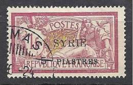 SYRIE N� 116 AVEC VARIETE ET TYPE OBL TTB