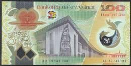 * PAPUA NEW GUINEA 100 KINA 2010 35th Anniversary NEW - Papua Nuova Guinea