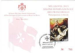 SMOM 2010 PARTECIPAZIONE UFFICIALE MILANOFIL  2013 - RIBERA - Malta (Orden Von)