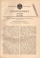 Original Patentschrift - G. Walker In Plantsville , Conn., USA , 1900 , Cutting Machine For Vegetables !!! - Tools