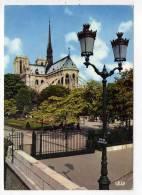 CPM 10*15/Y312/PARIS CHEVET DE NOTRE DAME 1973 - Notre Dame De Paris