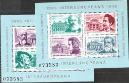 Romania 1985 BF Nuovo** - Mi.212/3  Yv.176/7 - Blocchi & Foglietti