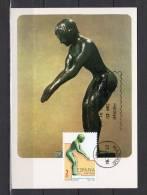"""ESPAGNE 1984 CM """" J.O. LOS ANGELES STATUETTE DE NAGEUR AU DEPART """". N° YT 2384. Parfait état + Prix Dégressif ! - Summer 1984: Los Angeles"""