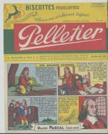 Buvard -   Biscottes Pelletier Feuilletées N° 115 - Caramelle & Dolci