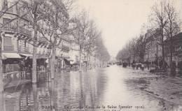 PARIS/INONDATIONS/La Grande Crue De La Seine (janvier 1910) L'avenue Rapp/ Réf:C1149 - Inondations De 1910
