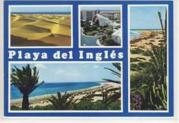 GRAN CANARIA - Playa Del Ingles - Multicard 1991 - Gran Canaria