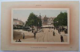54 : Nancy - Place Saint-Jean - Animée & Colorisée - Plan Inhabituel - Nancy