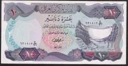 IRAQ  P65   10  DINARS   1973    AUNC. - Iraq