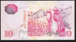 LESOTHO   P15b  10  MALOTI   2009    UNC. - Lesoto