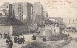 PARIS XVI  POINT Du JOUR Animé PORTE De Billancourt FORTIFICATIONS OCTROI Bords De SEINE  Ancien VIADUC D' AUTEUIL - Arrondissement: 16