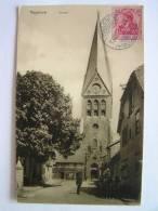 Cpa, Très Belle Vue Animée, Hagenow, Kirche - Hagenow