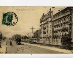 59-LILLE-Boulevard Carnot-animée,Tramway,,,, , - Lille