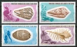 1975 Afars E Issas Conchiglie Shells Coquilles Set MNH** Nu50 - Afars & Issas (1967-1977)
