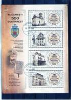 ROMANIA 2008 /  Monuments De BUCURESTI - Denkmäler
