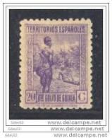 GUI265-LA555TCO.Guinee.G UI NEA.ESPAÑOLA .1941. (Ed 265**) Sin Charnela.MAGNIFICO - Culturas