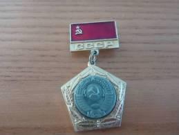 """Médaille Soviétique (URSS) """"CCCP"""" (type 1) Métal - Rusia"""