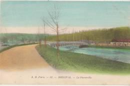 CPA 78 BOUGIVAL La Passerelle Carte Colorisée - Bougival