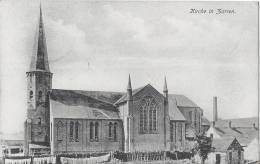 AK Zarren,Kirche   1.WK ,Feldpost - Kortemark