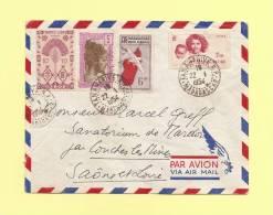 Tananarive - Madagascar - 1954 - Destination France