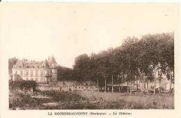 Cpa24 Chateau De La Rochebeaucourt - France