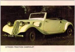 Thème - Automobile - Citroen Traction Cabriolet - PKW