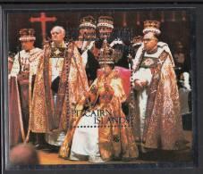 Pitcairn Islands MNH Scott #177 Souvenir Sheet $1.20 25th Anniversary Of Coronation Of Queen Elizabeth II - Timbres