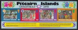 Pitcairn Islands MNH Scott #191a Souvenir Sheet Of 4 Christmas And International Year Of The Child - Pitcairn