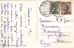 Baveno 41-24 1925 - Carta Carte - Storia Postale