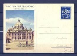 Briefkaart Van Vaticaan Naar Antwerpen (België)  (GA5951) - 1946-.. République