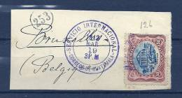 Briefstukje Naar Bruxelles (Belgium) Servicio Internacional 19/03/1912 (GA5966) - Guatemala
