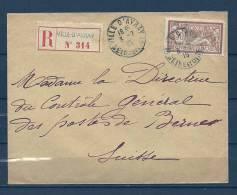 Brief Recommandé Van Ville D'Avray Naar Berne (Suisse)  03/07/1915  (GA6098) - Brieven En Documenten