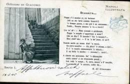 """NAPOLI ILLUSTRATA COLLEZIONE SALVATORE  DI GIACOMO """"STASERA..."""" 1906 - Napoli"""