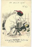 Guerre Russe Japonnaise ,mi Ka Do Le Dompteur Dans La Cage De L'ours De Siberie - Sátiras
