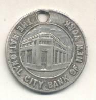 THE NATIONAL CITY BANK OF NEW YORK - CON $ 2 SE GRATIFICARA SU DEVOLUCION AL CITY BANK BUENOS AIRES JETON RARISIME - USA
