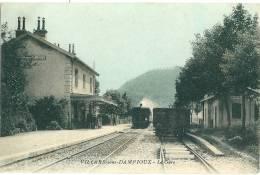 Villars Sous Dampjoux , La Gare Et Le Train - Sin Clasificación