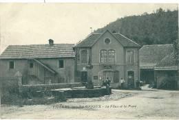 Villars Sous Dampjoux , La Place Et La Poste - Sin Clasificación