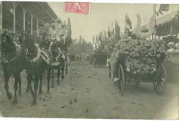Carte Photo De La Fete Des  Fleur D'aix Les Bains Du 19/01/1907 - Aix Les Bains