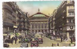 CPSM  PARIS  Avenue & Theatre De L' Opera - Non Classés