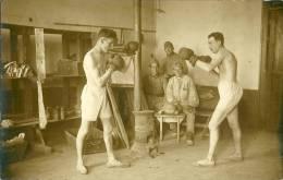 Carte Photo D'un Conbat De Boxe - Boxeo