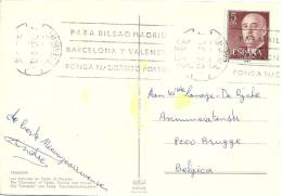 Espana 1971 Santa Cruz Tenerife >> Belgique Brugge - 1931-Aujourd'hui: II. République - ....Juan Carlos I