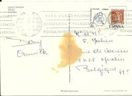 Espana 1974 Salou Tarragona >> Belgique Herchies - 1931-Aujourd'hui: II. République - ....Juan Carlos I