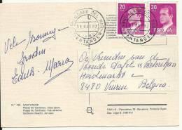 Espana 1987 Santillana Del Mar Santander >> Belgique Veurne - 1931-Aujourd'hui: II. République - ....Juan Carlos I