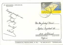 Espana Machine 1995 Arroyo De La Miel Benalmadena Malaga >> Belgique Willebroek - 1931-Aujourd'hui: II. République - ....Juan Carlos I