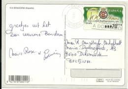 Espana Machine 1999 Benidorm >> Belgique Diksmuide / Real Club De Tenis Barcelona / Tennis - 1931-Aujourd'hui: II. République - ....Juan Carlos I