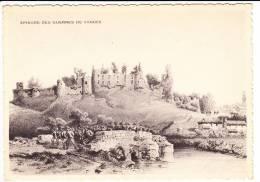Carte ( Format 15 X 10,5 Cm ) Société Des Amis Du Vieux Bressuire  épisode Des Guerres De Vendée ( Recto Verso ) - Bressuire