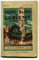 Guide Bijou De Lorient Et Des Environs été 1924 - Libri, Riviste, Fumetti